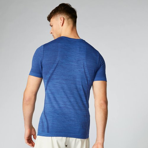 Myprotein Sculpt Seamless T-Shirt - Marine - XXL