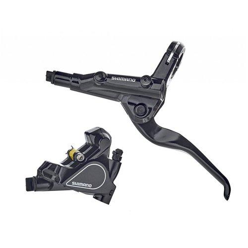 Shimano BL-RS600 Bremshebel Flatbar mit BR-RS405 Flatmount hydraulischer Scheibenbremse
