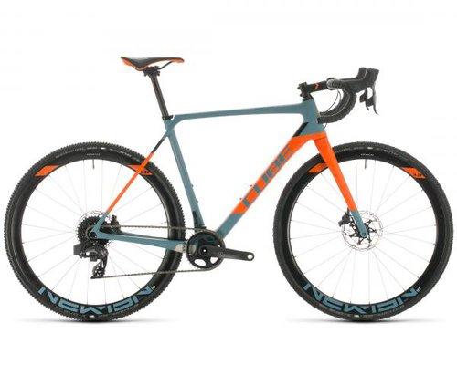 Cube Cross Race C:62 SLT - Carbon Cyclocross Bike 2020 | bluegrey n orange