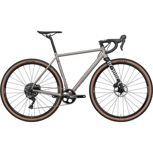 Rondo Ruut Titan Gravel Bike 2020 - Titanium - Black  - XL