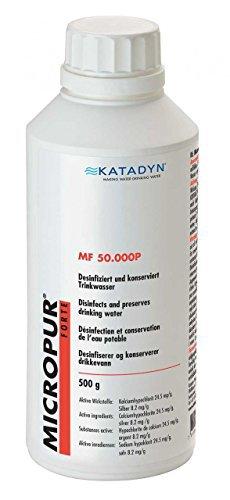 Micropur Forte MF 50'000P 500g Pulver Wasserentkeimung Trinkwasser