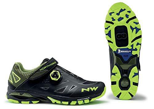 Northwave Origin 2 MTB Fahrrad Schuhe schwarz//gelb 2021