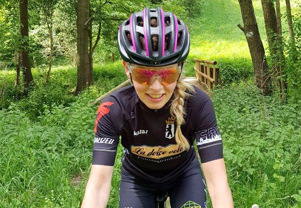 Rennradtraining. Interview mit Katharina Meißner über den Frauenradsport.