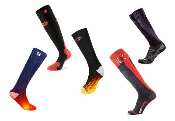 Beheizbare Socken. Die 5 besten für den Fahrrad-Winter.