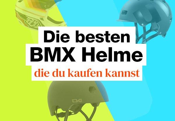 Die besten BMX, Dirt Jump und Skate Helme. Stylish, cool und sicher.