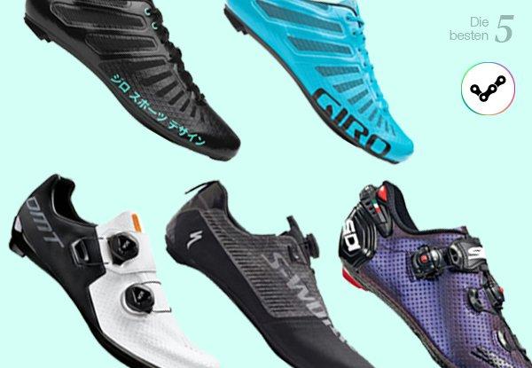 Rennradschuhe: unsere 5 Top-Performer.