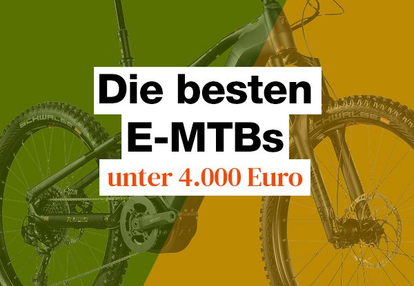 Die besten E-MTBs bis 4000 Euro im Test.