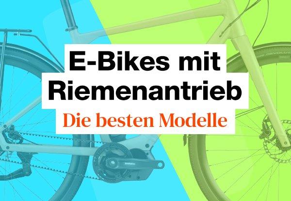 7 E-Bikes mit Riemenantrieb im Test. Das sind die Testsieger.