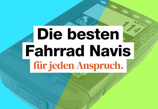 Fahrrad Navi Test. Die 17 besten GPS-Geräte für alle Ansprüche.