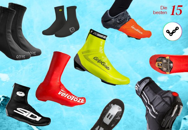 Nie wieder nasse oder kalte Füße. Kaufberatung Fahrrad Überschuhe.