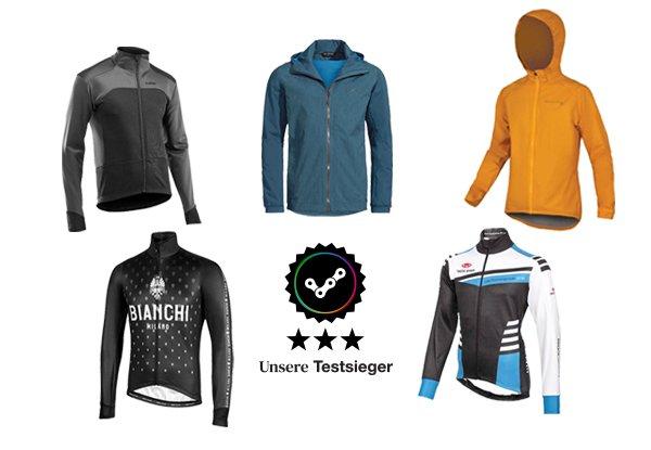 Fahrradjacke Test - wir haben für euch die besten Jacken für 2021 getestet