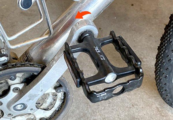 Fahrradpedale wechseln - so machst du's richtig.