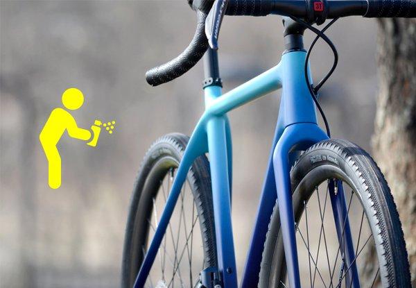 Fahrrad lackieren - So machst du es richtig.