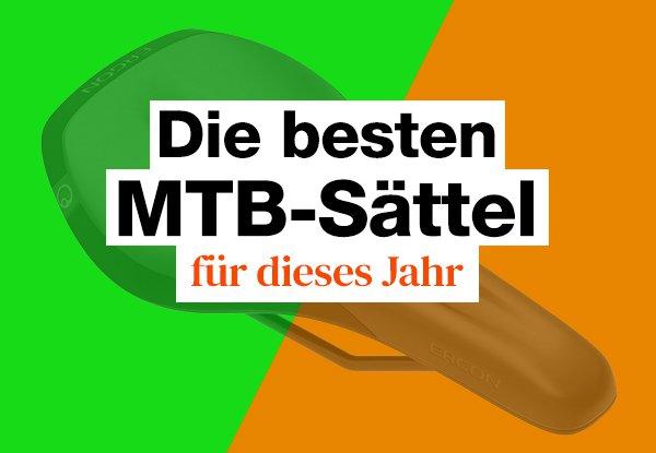 MTB Sattel Test: Die besten MTB Sättel für Damen und Herren.