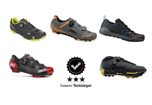 MTB Schuhe Test - Unsere Testsieger für 2021
