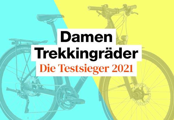 Die besten Damen Trekkingräder im Test.