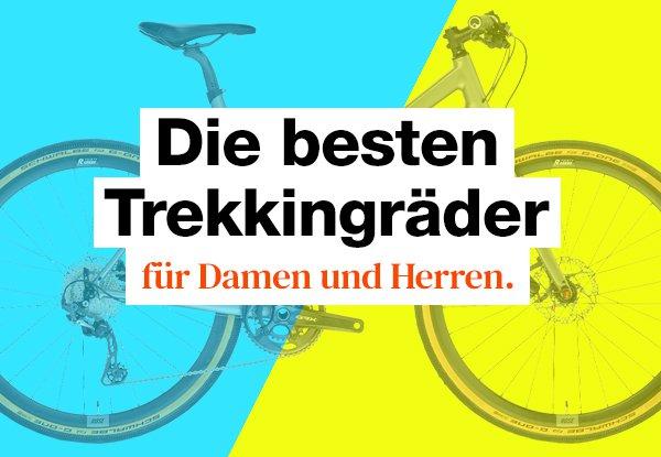 Trekkingrad Test: Die besten Trekkingräder in 2021.